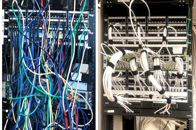 Groovy Network Rack And It Room Cleanup Wiring Cloud Usnesfoxcilixyz