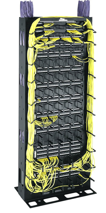 "Middle Atlantic® MK Series 19"" Cable Management Racks"