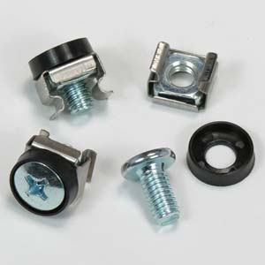 M6 screw and nuts for wallmount cabinets
