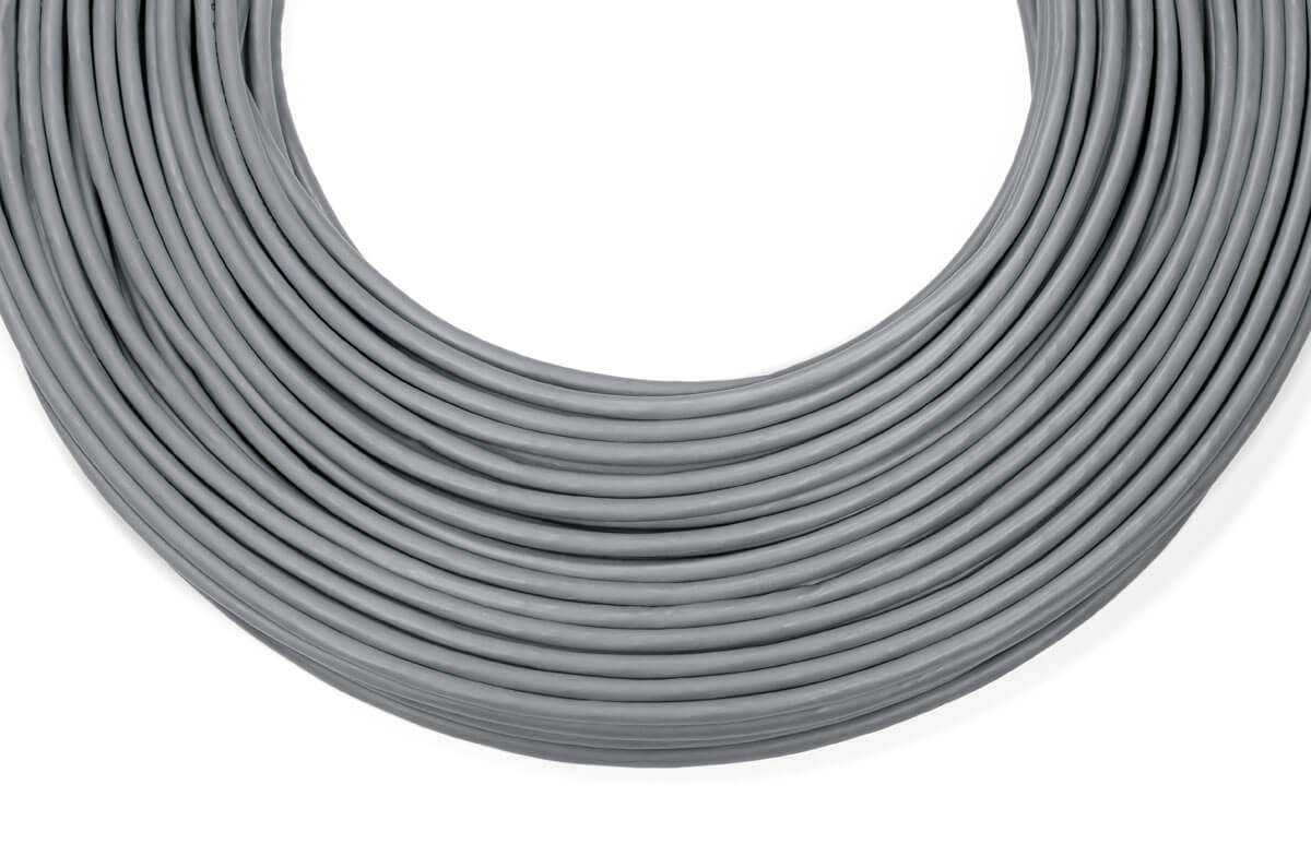 gray cat6 plenum rated wire