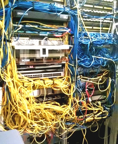 networkrack and it room cleanup, Wiring diagram